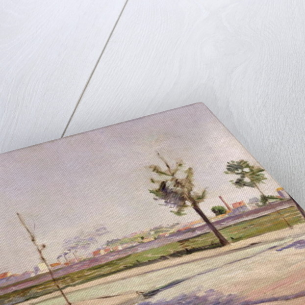 The Road to Gennevilliers by Paul Signac