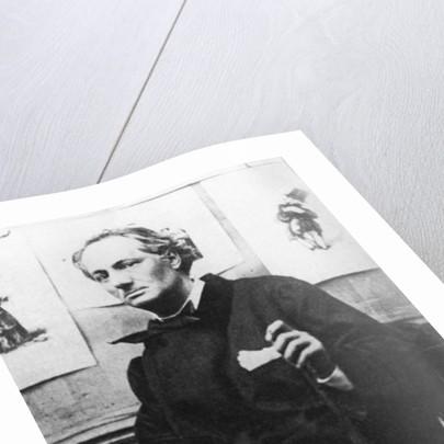 Charles Baudelaire with Engravings by Etienne Carjat