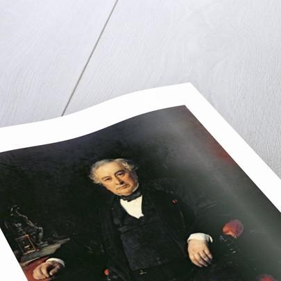 Isaac Pereire by Leon Joseph Florentin Bonnat