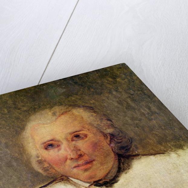 Portrait of Henri Gregoire study for the Tennis Court Oath by Jacques Louis David