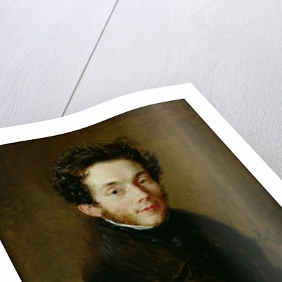 Portrait of Carl Maria Friedrich Ernst von Weber by Sir Thomas Lawrence