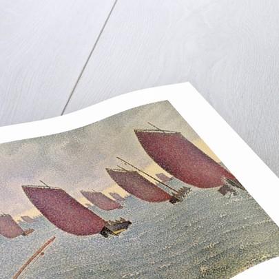 Breeze, Concarneau by Paul Signac