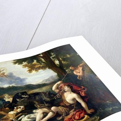 Adonis Killed by a Wild Boar by Francesco Albani