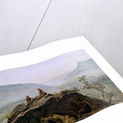 View of the Adige Valley by Rudolph Friedrich Wasmann