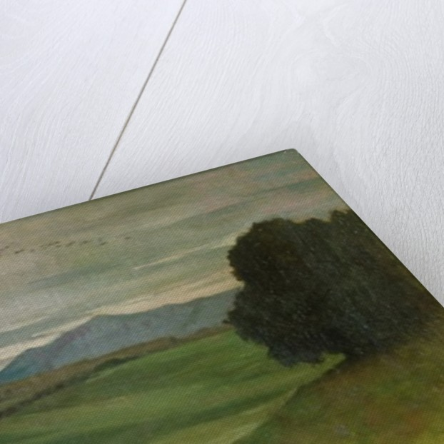 Roman Landscape by Antoine Auguste Ernest Herbert or Hebert