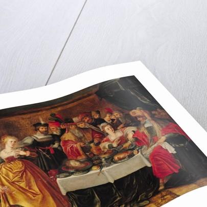 The Feast of Herod by Italian School