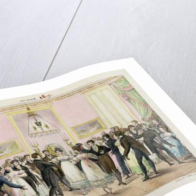 A Society Ball by Hippolyte Lecomte