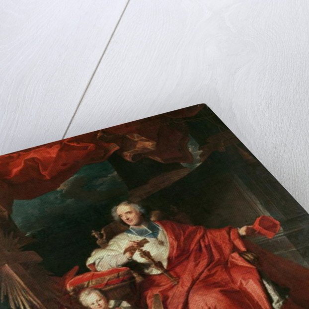 Cardinal de Bouillon Opening the 'Holy Door' by Hyacinthe Francois Rigaud