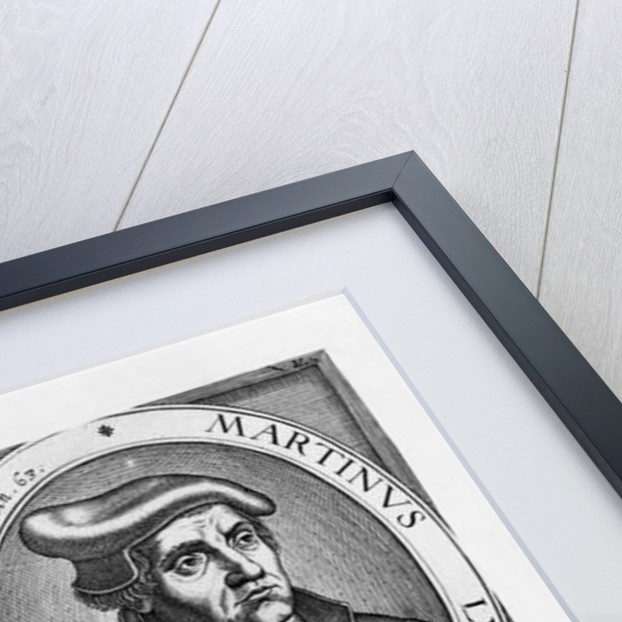 Charles Martel and Martin Luther by French School