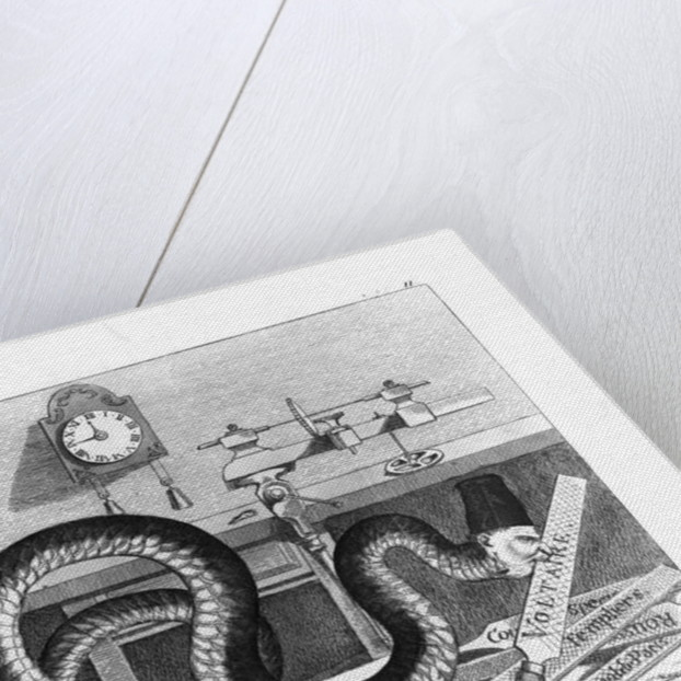Fable of the Snake and the Files by German School