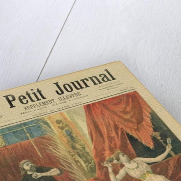 Mademoiselle Sibyl Sanderson and Monsieur Jean Francois Delmas by Oswaldo Tofani