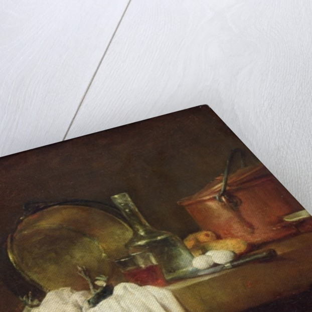 The Kitchen Table by Jean-Baptiste Simeon Chardin