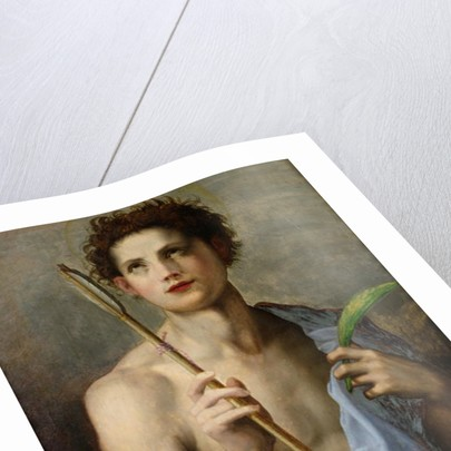 St. Sebastian Holding Two Arrows and the Martyr's Palm by Andrea del Sarto