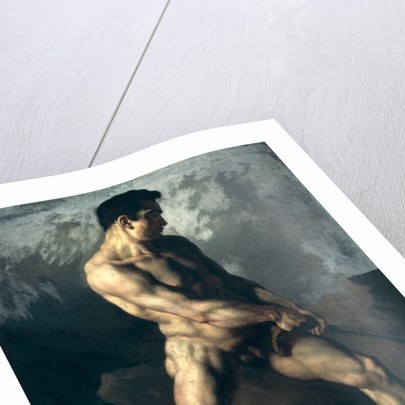 Theodore gericault male nude think, that