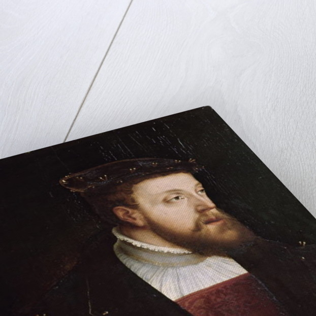 Portrait of Charles V by German School