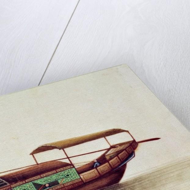 A Sampan, Qianlong Period by Chinese School