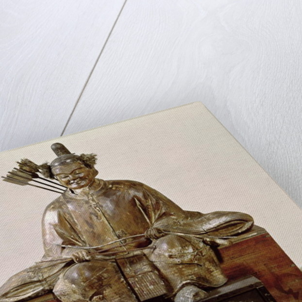 The Sadaijin in ceremonial costume, Muromachi Period by Japanese School