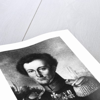 Karl von Clausewitz by German School