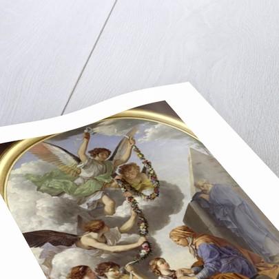 The Education of the Virgin by Laurent de La Hyre