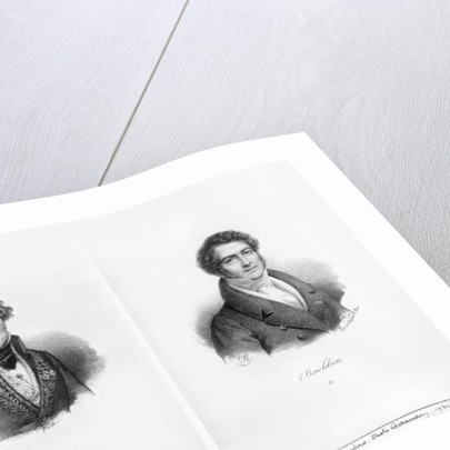 Henri Montan Berton and Francois Adrien Boieldieu by Francois Seraphin Delpech