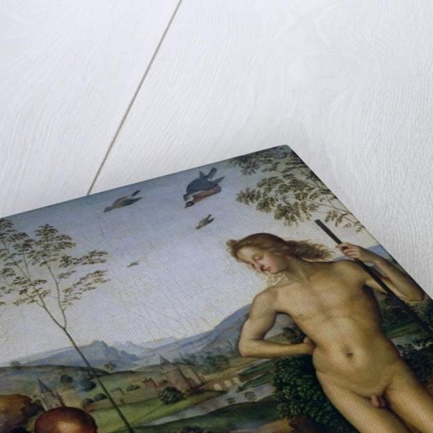 Apollo and the Shepherd Daphnis? by Pietro Perugino