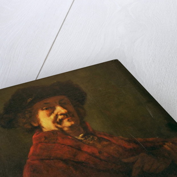 Copy of a Rembrandt Self Portrait by Gustave Courbet