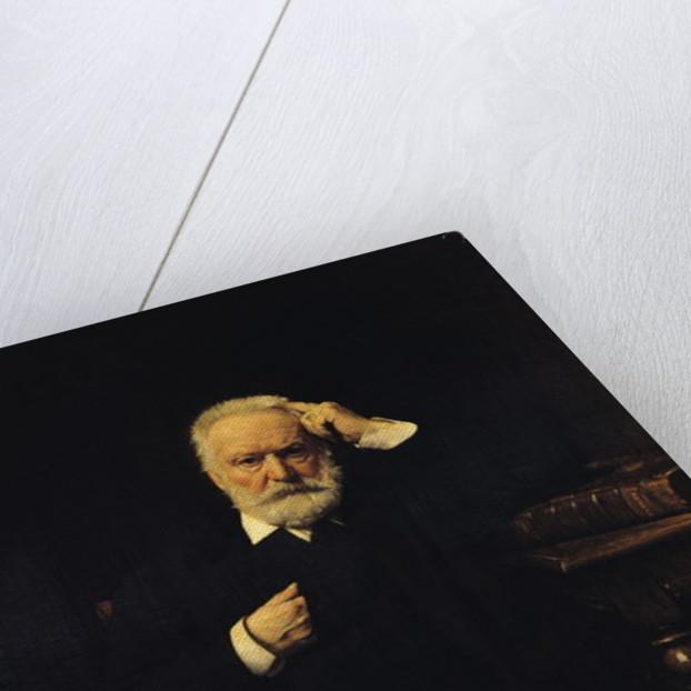 Portrait of Victor Hugo by Leon Joseph Florentin Bonnat