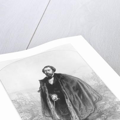 Alfred de Musset by Paul Gavarni