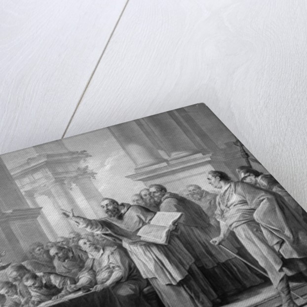 Meeting of St. Augustine and the Donatists by Carle van Loo
