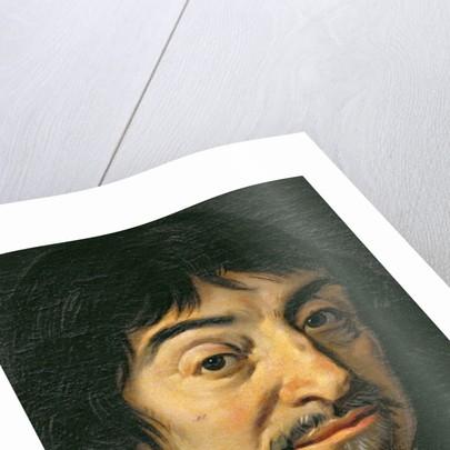 Portrait of Rene Descartes by Frans Hals