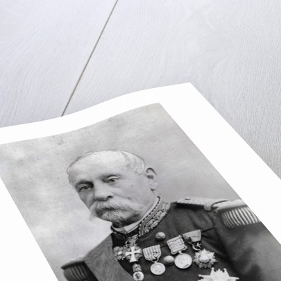 Portrait of Victor-Louis-François Février by Eugene Pirou