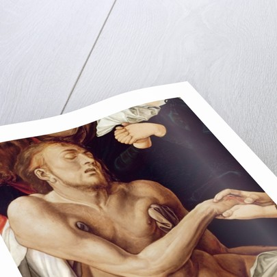 Detail of Lamentation for Christ by Albrecht Dürer or Duerer