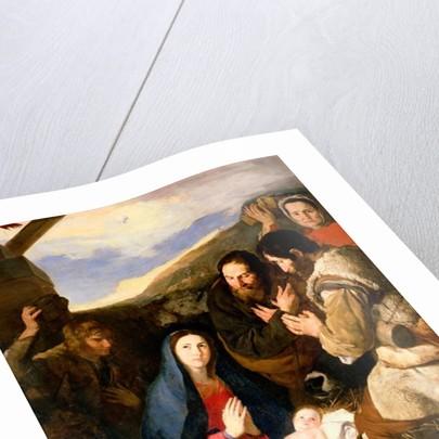 Adoration of the Shepherds by Jusepe de Ribera