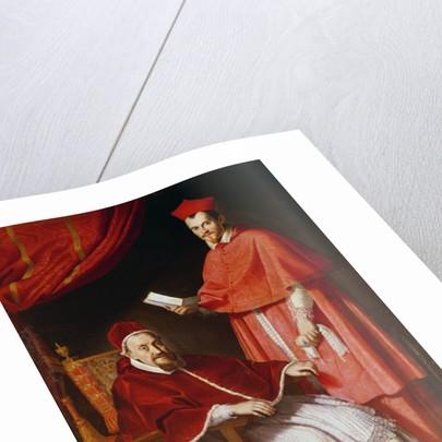 Portrait of Pope Gregory XV and Ludovico Ludovisi by Domenichino