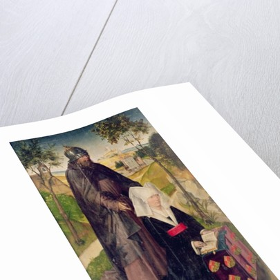 Guillemette de Montagu with Saint Guillaume by Rogier van der Weyden