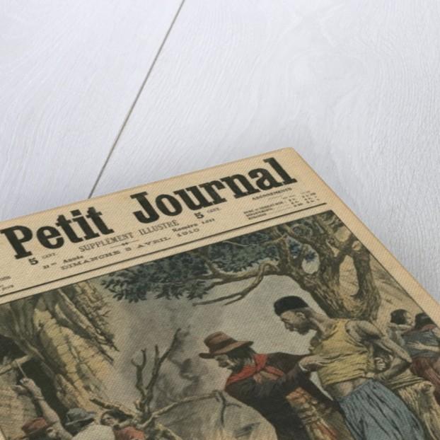 Chilean bandits devouring Armenian emigrants by French School