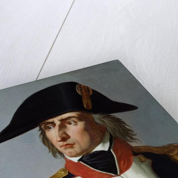 Charles-Pierre-Francois Augereau Duke of Castiglione by Claude-Noel Thevenin