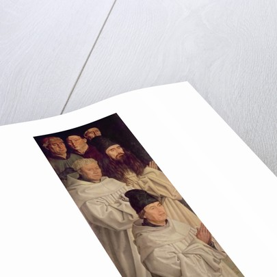 Panel of the Monks by Nuno Goncalves or Gonzalvez
