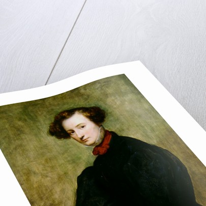 Felicie de Fauveau, 1829. by Ary Scheffer