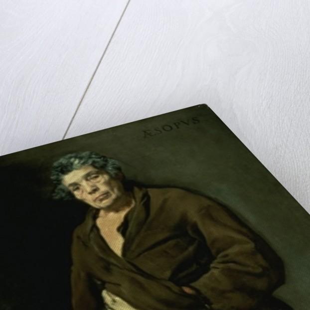 Aesop by Diego Rodriguez de Silva y Velazquez
