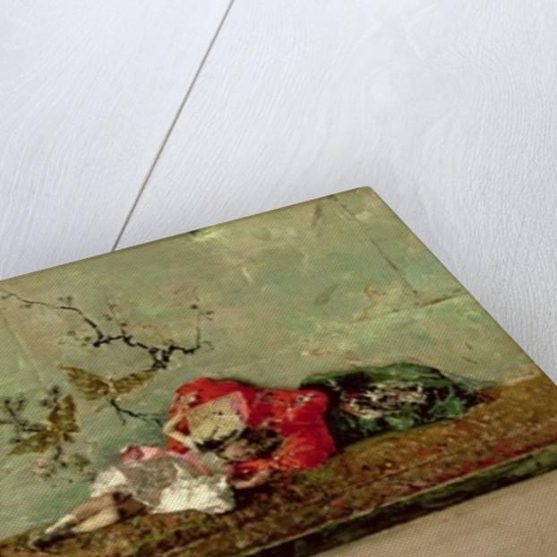 The Painter's Children in the Japanese Salon by Mariano José María Bernardo Fortuny y Carbó