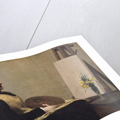 The Study by Ignace Henri Jean Fantin-Latour