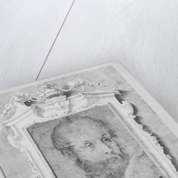 Portrait of a man presumed to be Veronese (Paolo Caliari) by Italian School