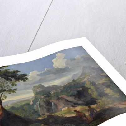 Landscape by Jan Frans van Bloemen