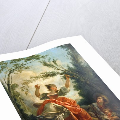 The See-saw by Jean-Honore Fragonard