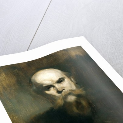 Portrait of Paul Verlaine by Eugene Carriere