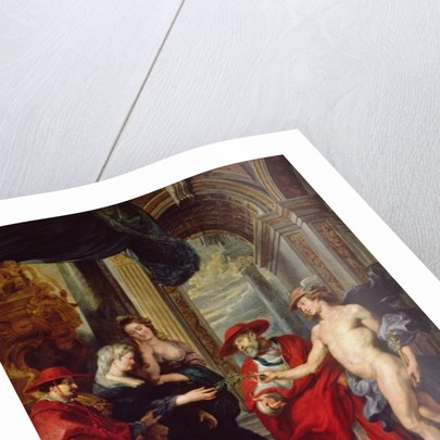 The Medici Cycle: The Treaty of Angouleme by Peter Paul Rubens