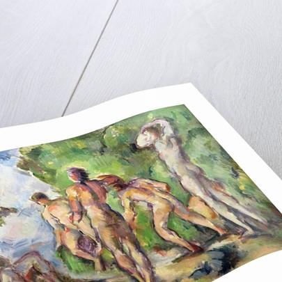 Bathers by Paul Cezanne