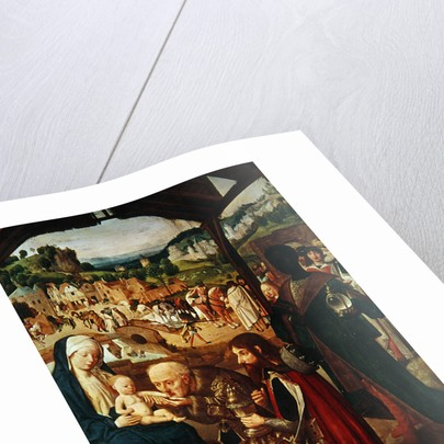 Adoration of the Magi by Gerrit tot Sint Jans