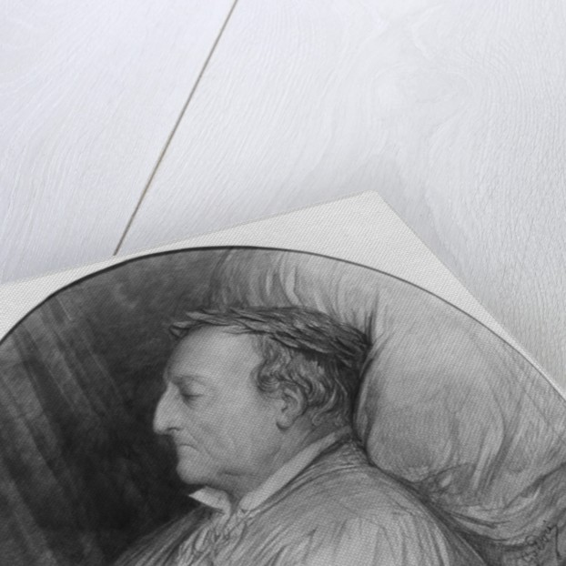 Gioacchino Rossini on his deathbed by Gustave Dore